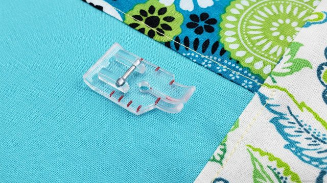 Clear 1/4 Quilting Foot