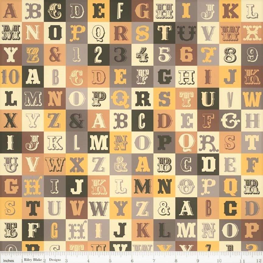 Alphabet Yellow