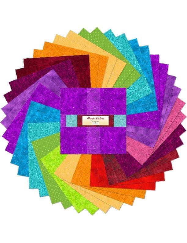 Magic Colors - 10 Karat Gems Ten Inch Squares