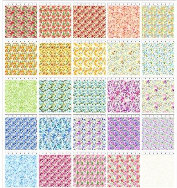 Watercolor Beauty Strip Roll