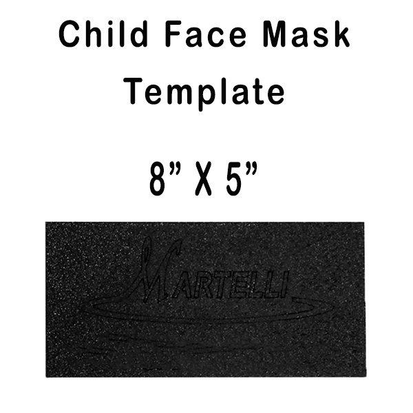 Child Face Mask Template (Martelli)