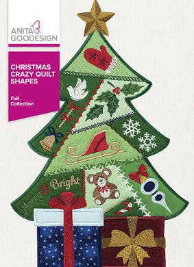 Christmas Crazy Quilt Shapes