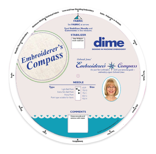 Embroidery Mentor Compass