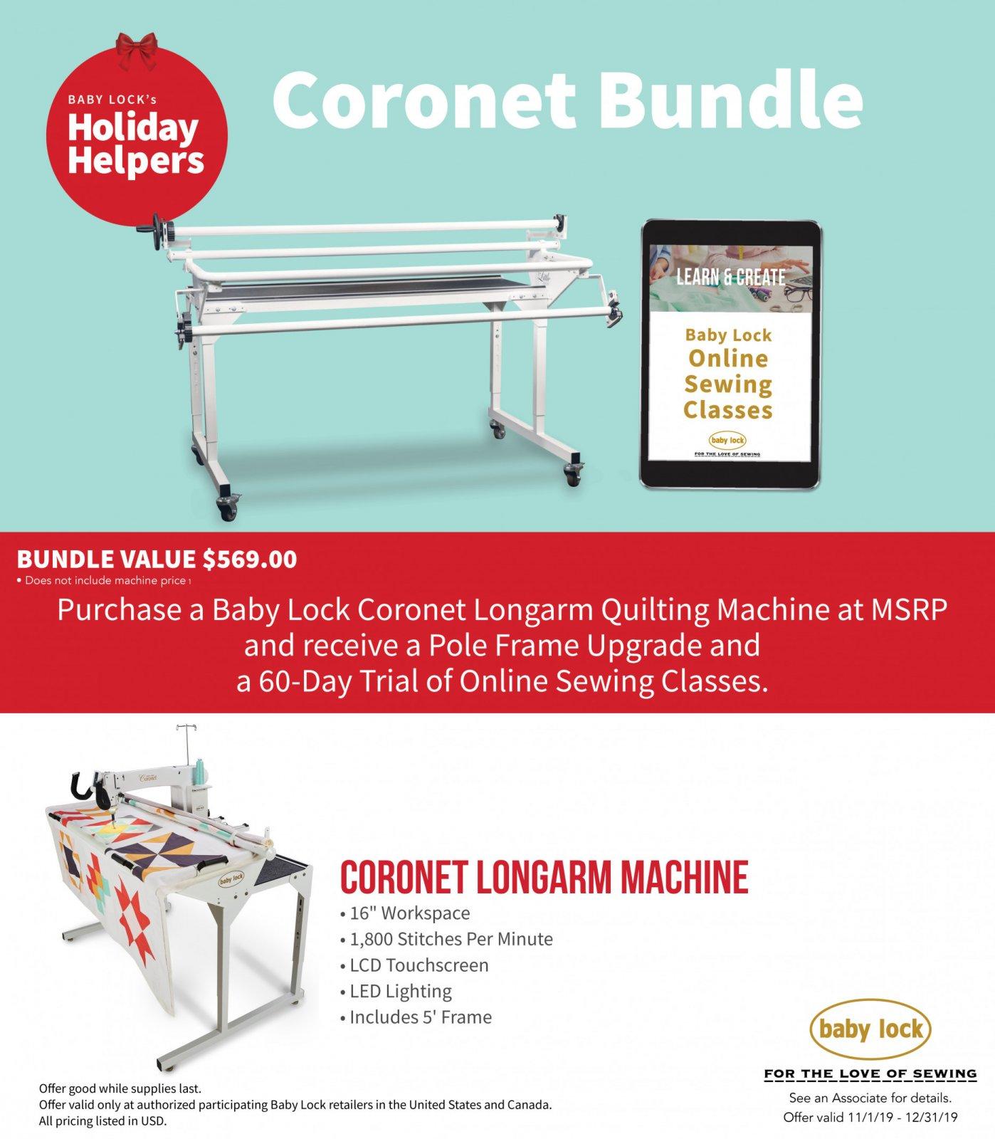 Coronet Promo Deal