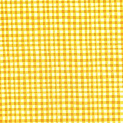Gingham Play Marigold