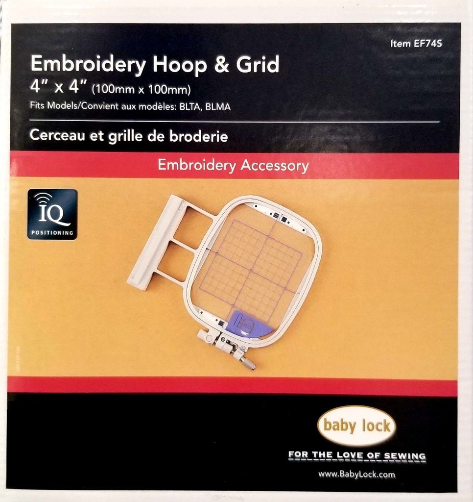 4 x 4 Embroidery Frame/Grid for IQ Positioning