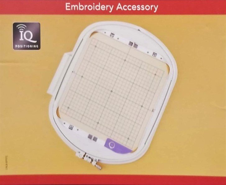 9.5 x 9.5 Embroidery Frame/Grid for IQ Positioning