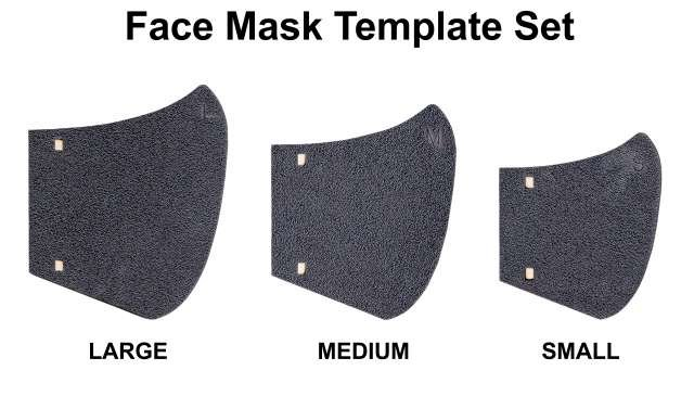 Face mask set by Martelli