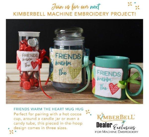 Friends Warm The Heart Mug Hug