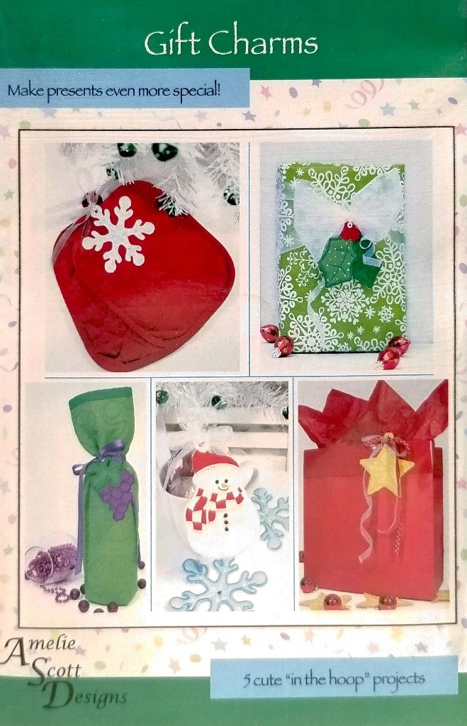 Gift Charms in the Hoop by Amelie Scott Designs