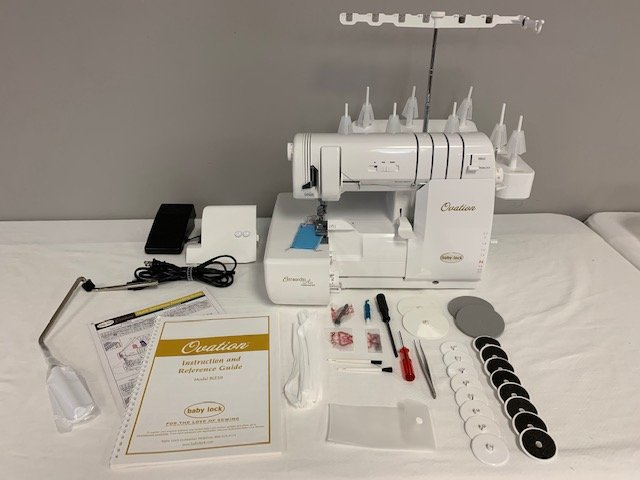 Baby Lock Ovation Serger and Coverstitch (pre-owned)