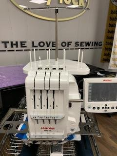 PRE-OWNED Janome MB-4S Multi Needle Embroidery Machine