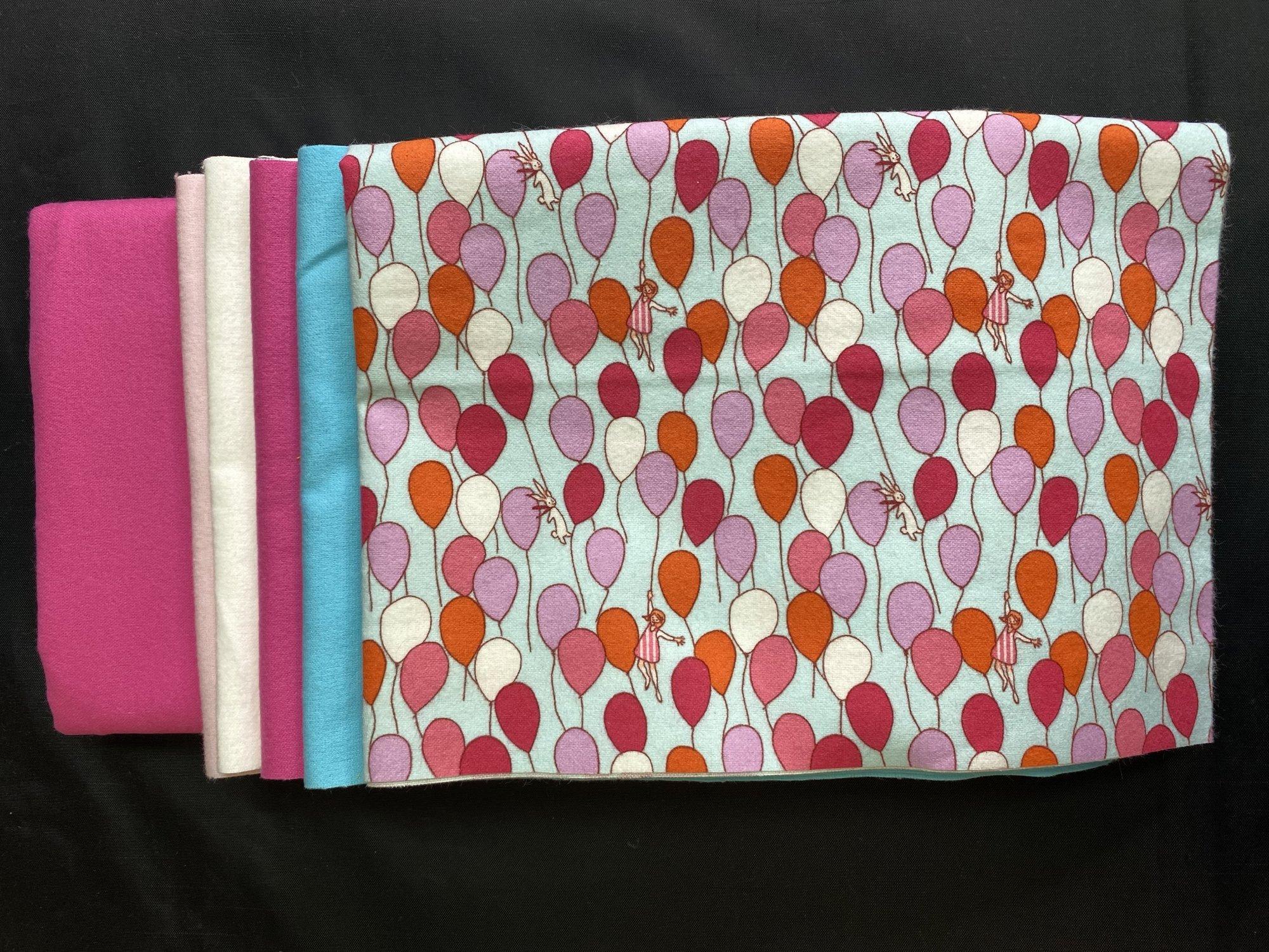 Rag Quilt Kit Colorway #3