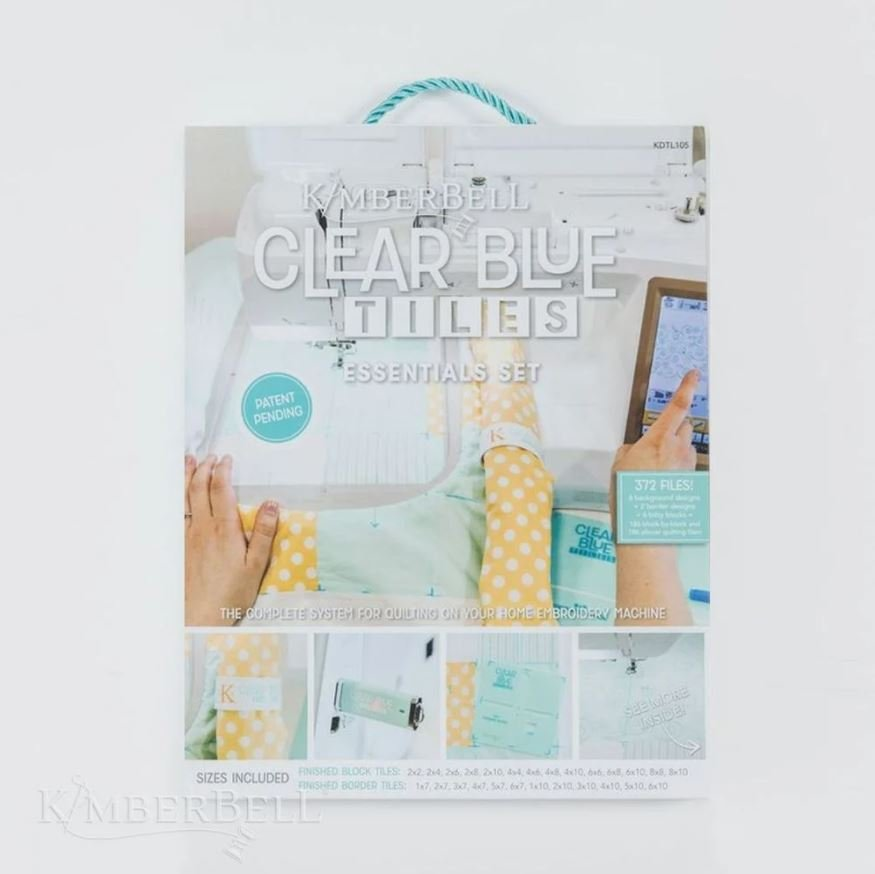 PRE ORDER Kimberbell Clear Blue Tiles Essential Set