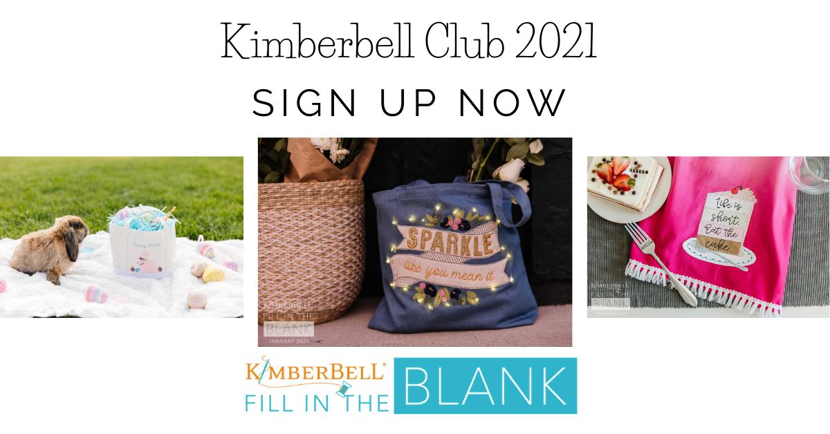 Kimberbell Club 2021 - FULL YEAR