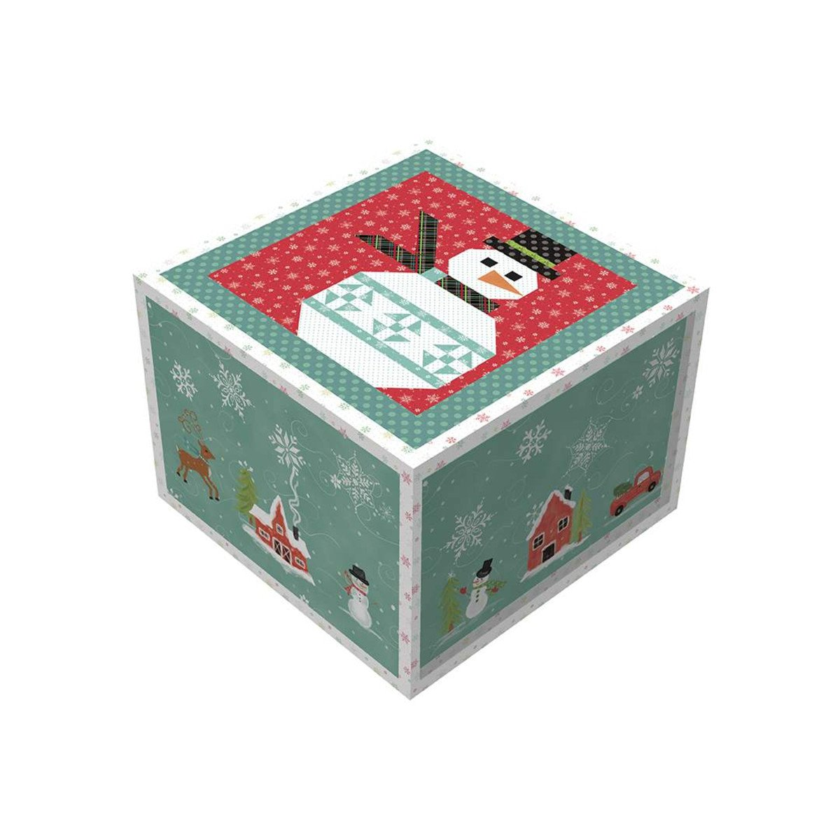 Snowman Table Runner Boxed Kit