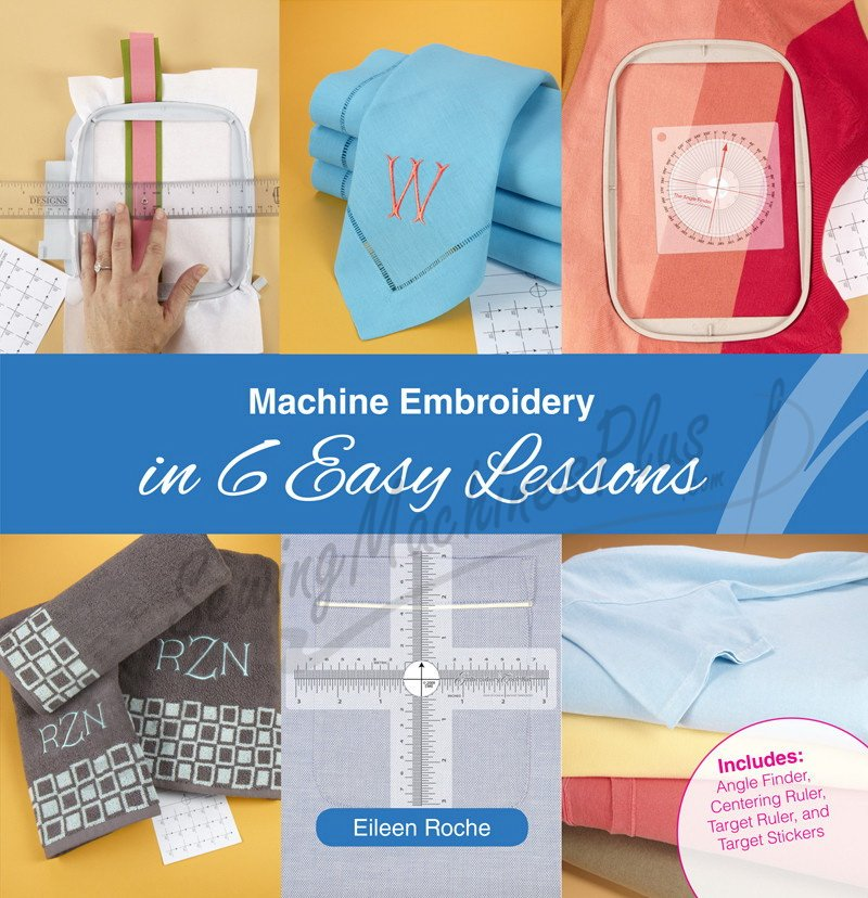 Quilt With An Embroidery Machine in 6 Easy Lessons