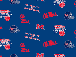 University of Miss Logo Fleece