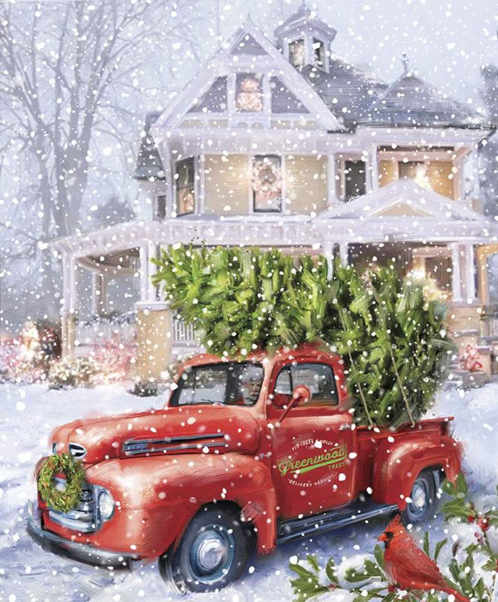 Christmastime Is Here Christmas Delivery Panel