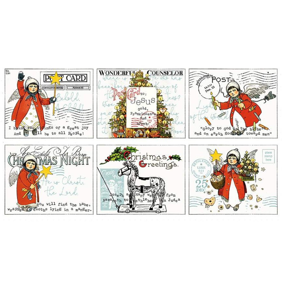 All About Christmas  Placemat Panel