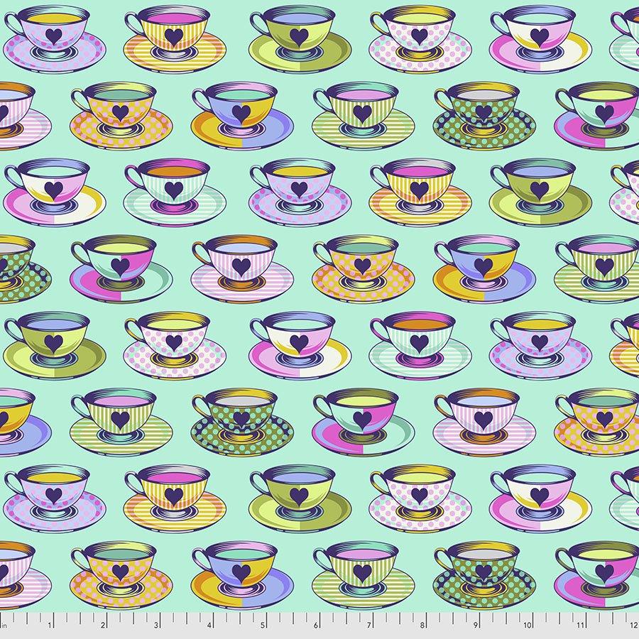 Tea Time-Daydreamer- Tula Pink Curiouser & Curiouser