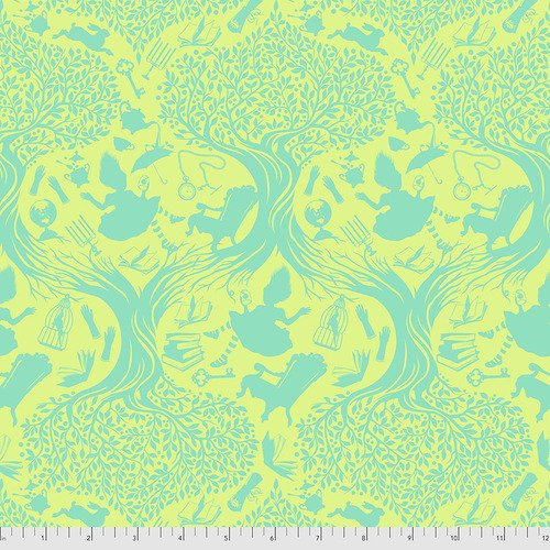 Down the Rabbit Hole-Bewilder- Tula Pink Curiouser & Curiouser