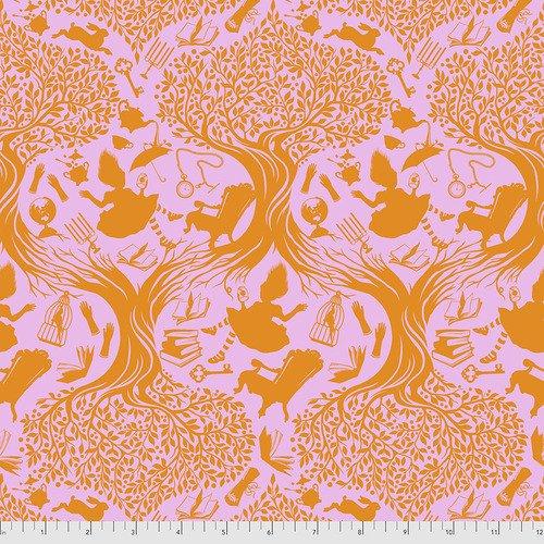 Down the Rabbit Hole -Wonder -Tula Pink Curiouser & Curiouser