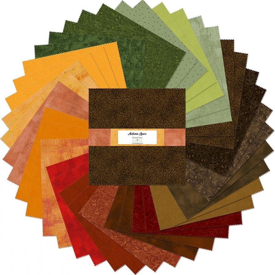 Autumn Spice Ten Squares