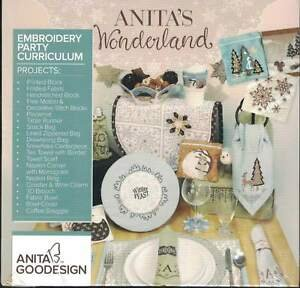 Anita's Wonderland Embroidery Workshop Curriculum