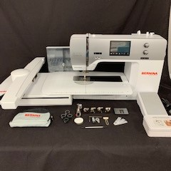 Bernina 770 QE Sewing, Quilting and Embroidery Machine  (Pre-owned)