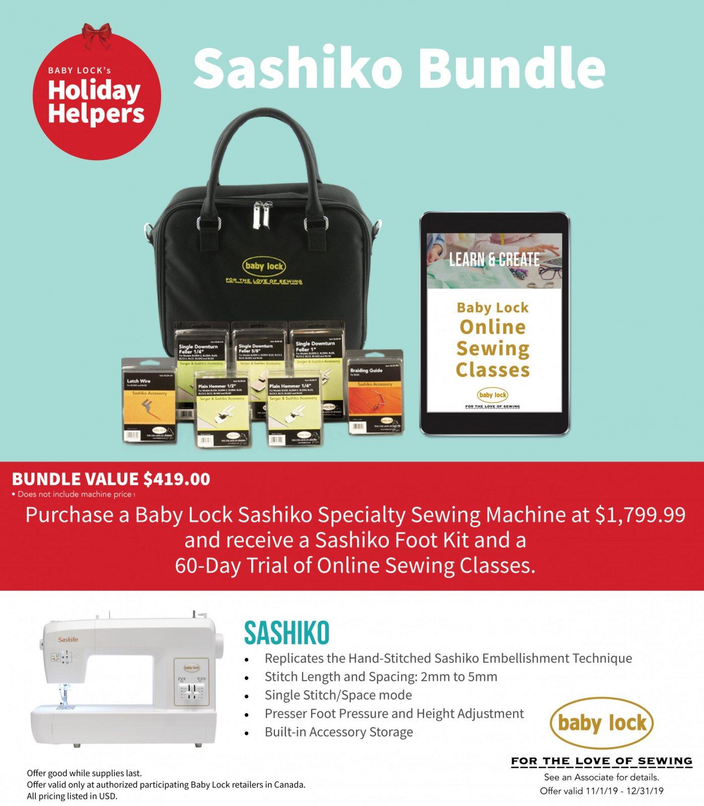 Sashiko Promo Deal