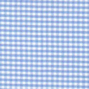 1/16 Sky Blue Gingham - Fabric Finders