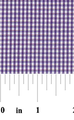 1/16 Grape Gingham - Fabric Finders