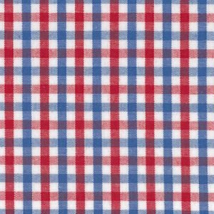Red and Blue Plaid (Cotton Tri-Check)