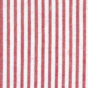 Red Stripe Seersucker Fabric