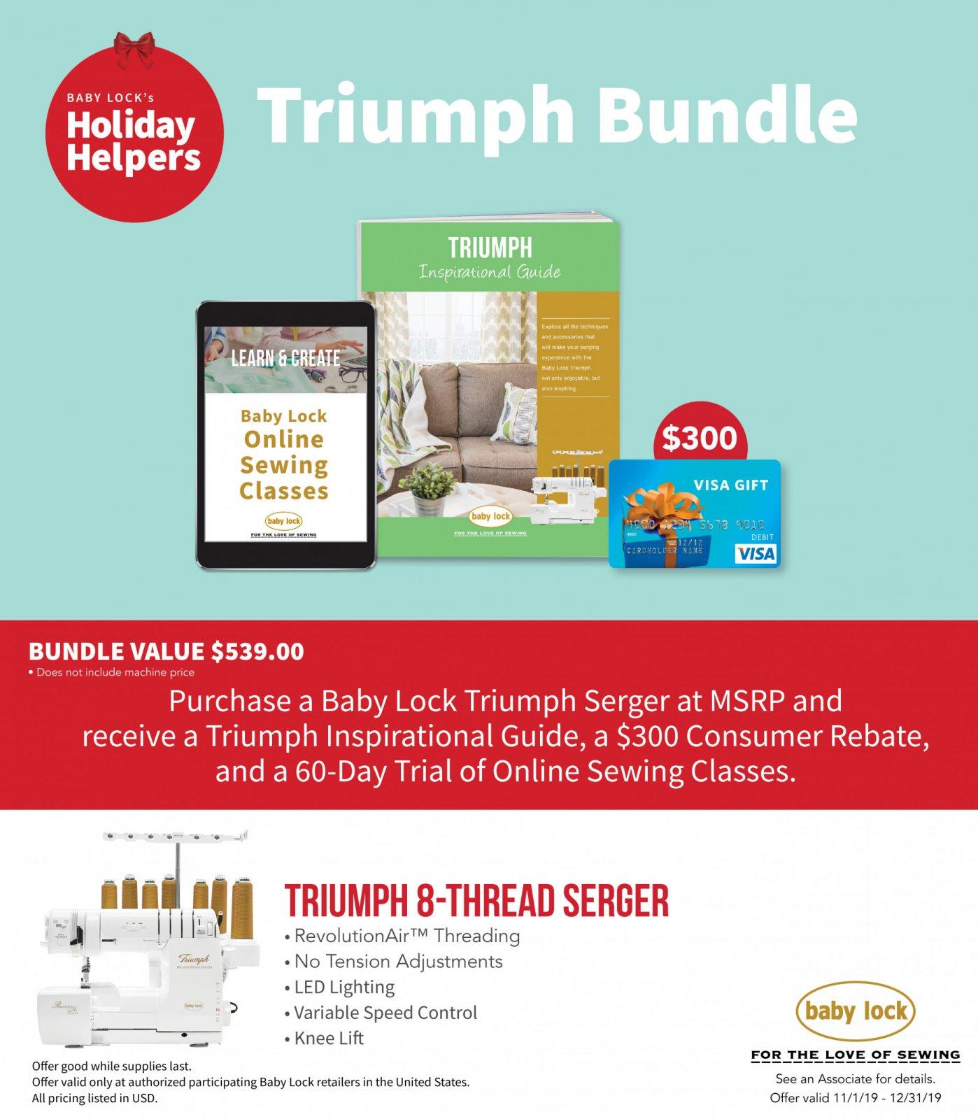 Triumph Promo Deal