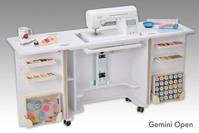 Gemini Cabinet Floor Model - WHITE