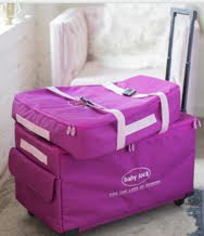 XL MACHINE Trolley AND Embroidery Bag  Set - Baby Lock - PINK
