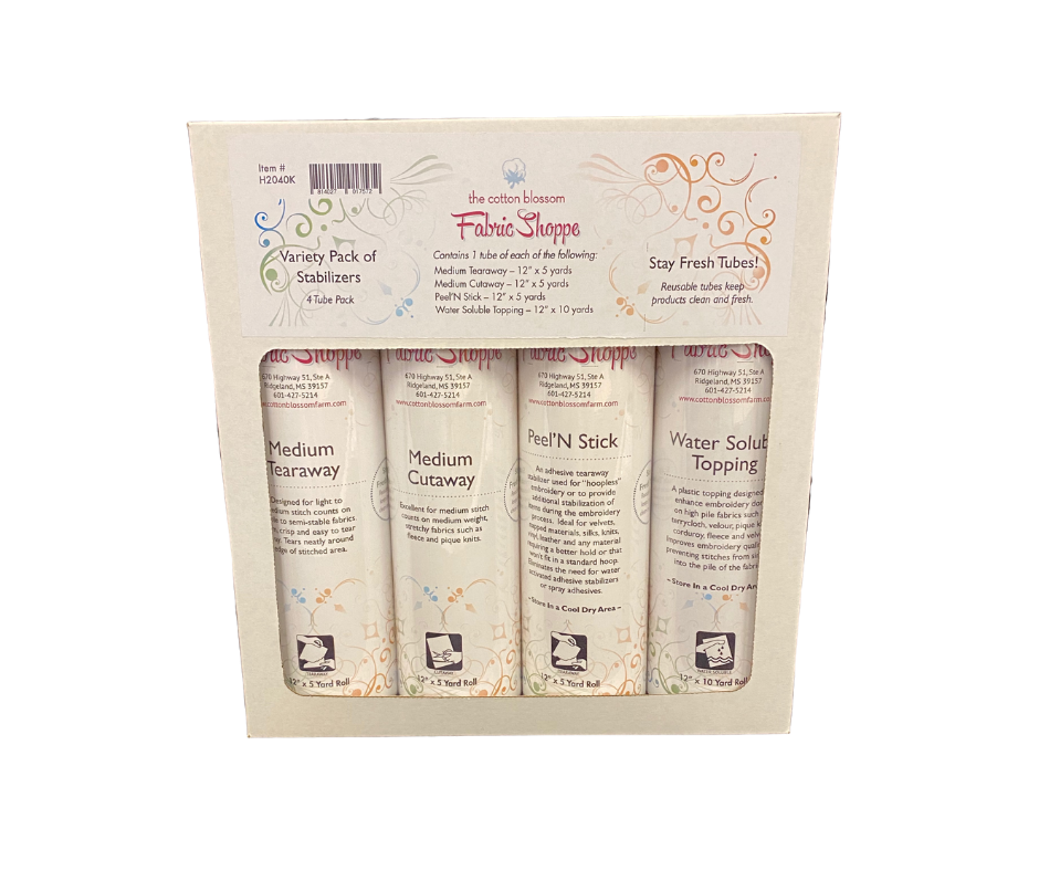 CBF Stabilizer Variety Pack WITH STAY FRESH TUBES