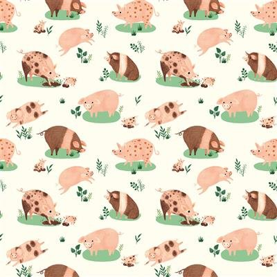 Dale Farm Happy Pigs