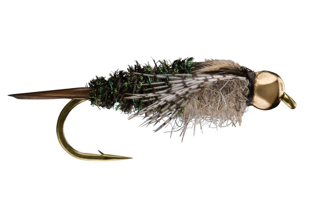 Twenty Incher Trout Fly Beaded size 4