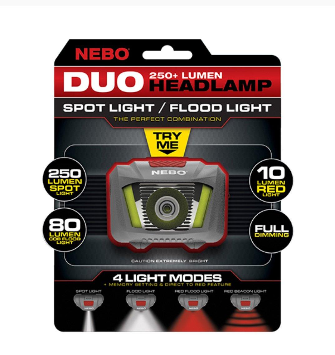 DUO 250 Lyman headlamp by NEBO