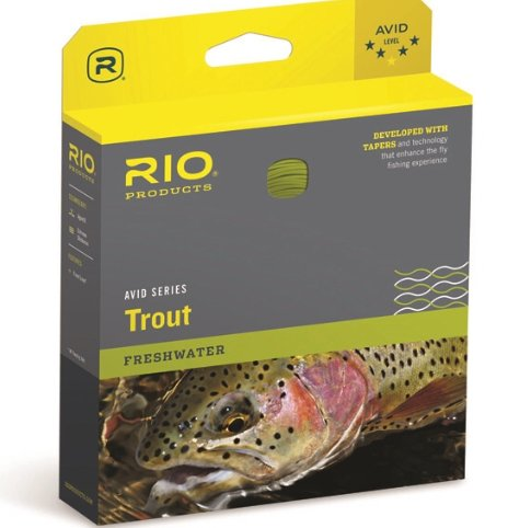 Avid Trout | 5wt pale yellow
