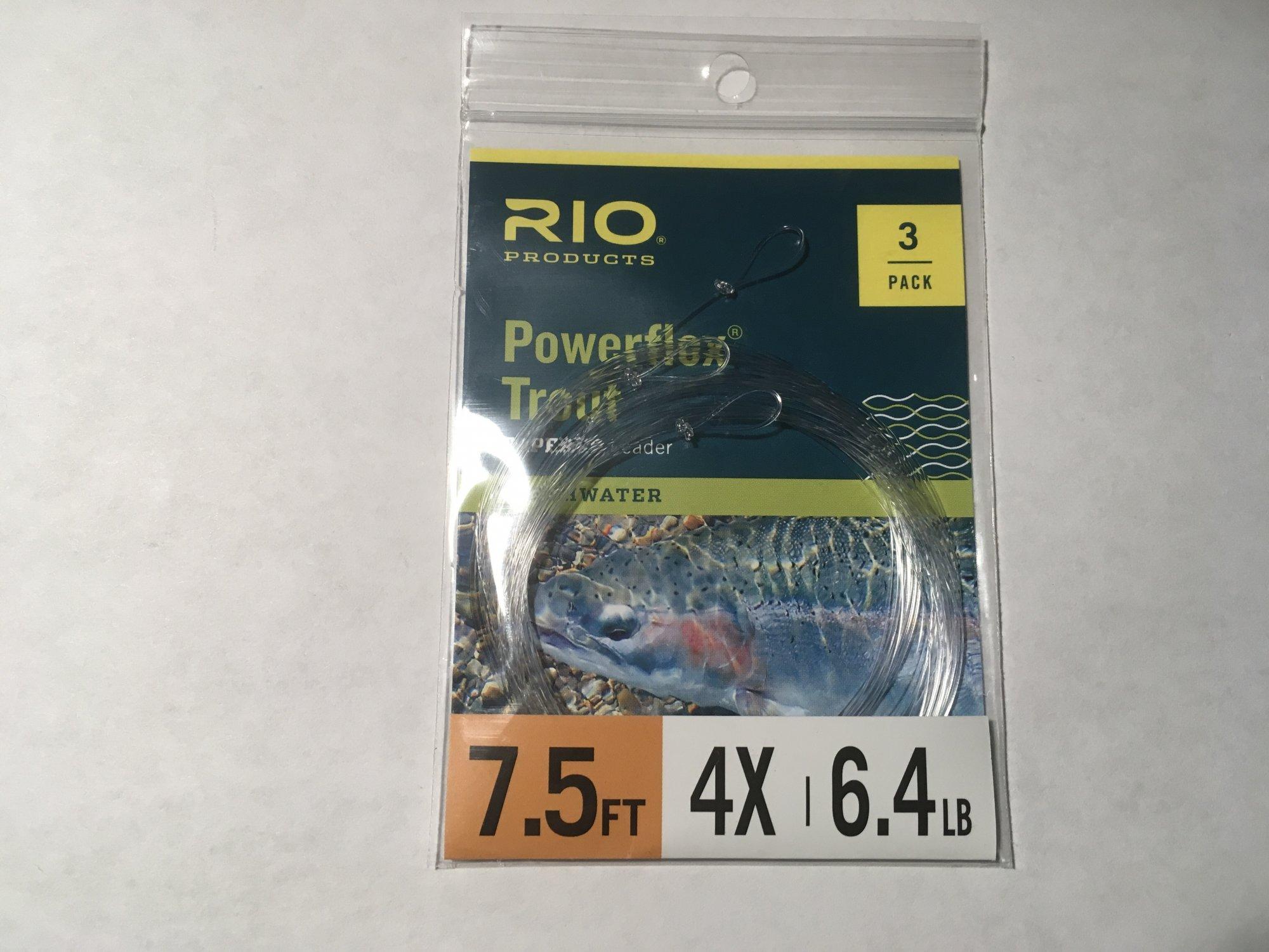 7.5 ft 4x leader 3 pack Powerflex