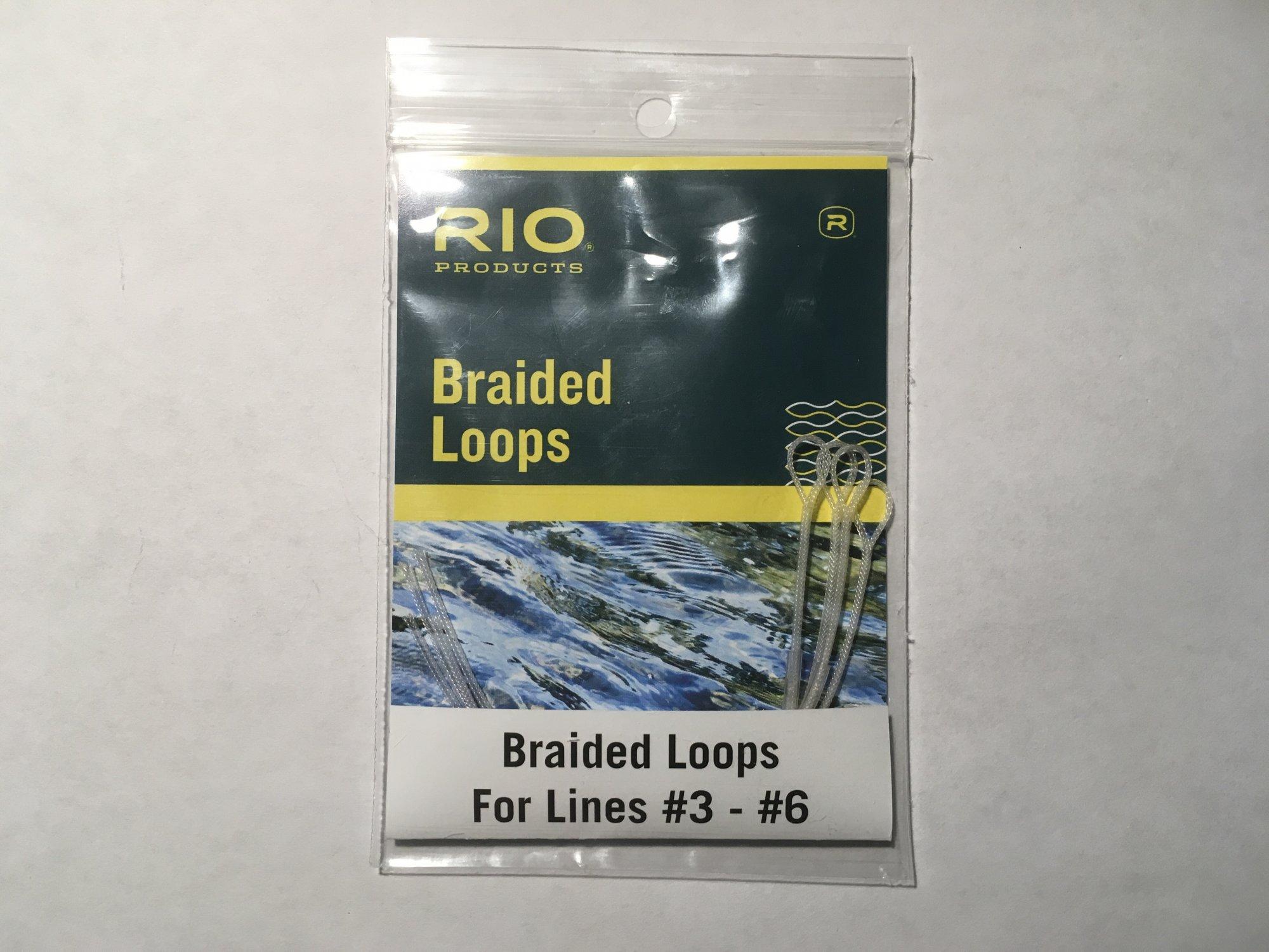 Braided Loops   3-6 line