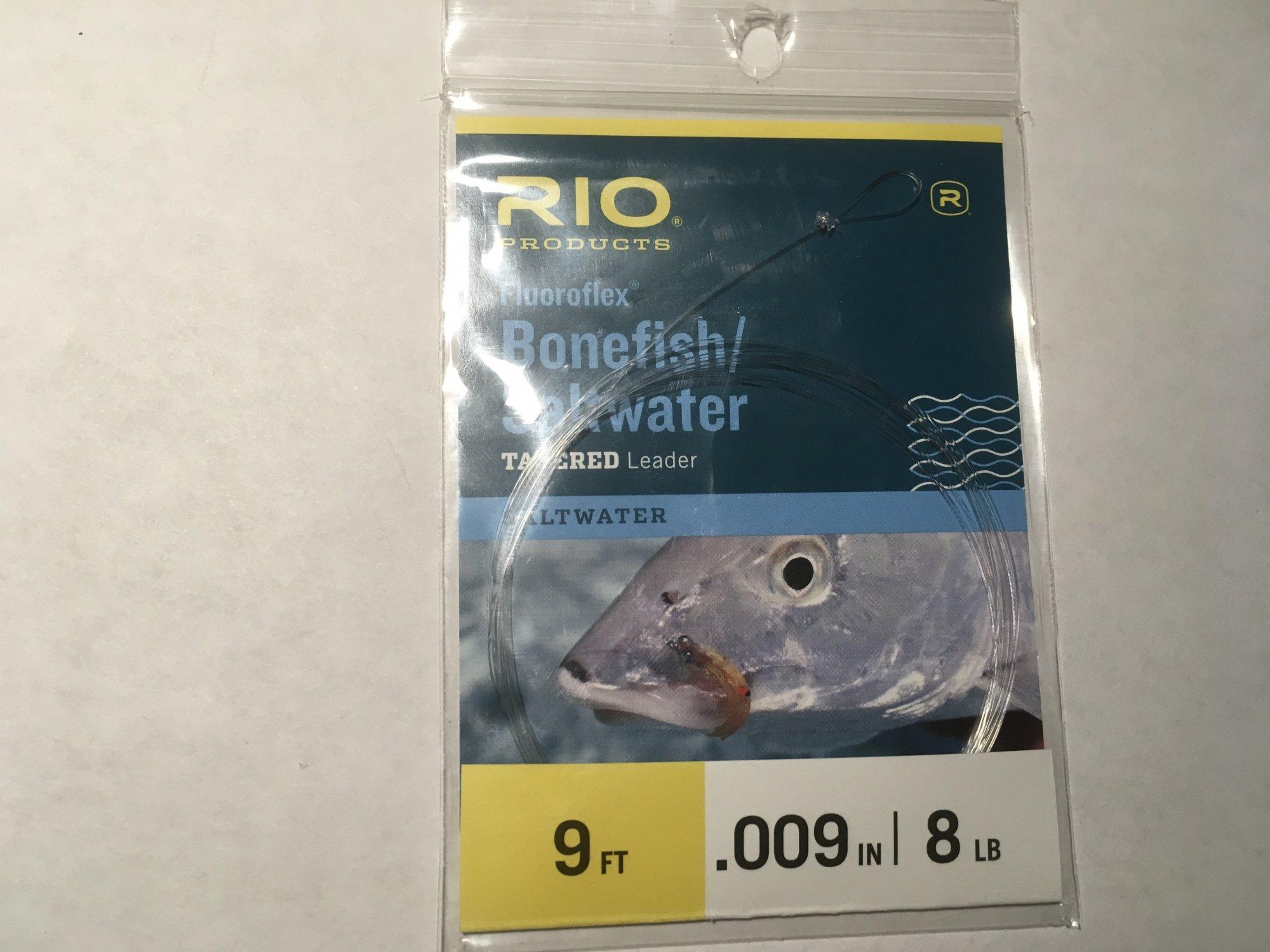 Bonefish Leader 8 lb flouro