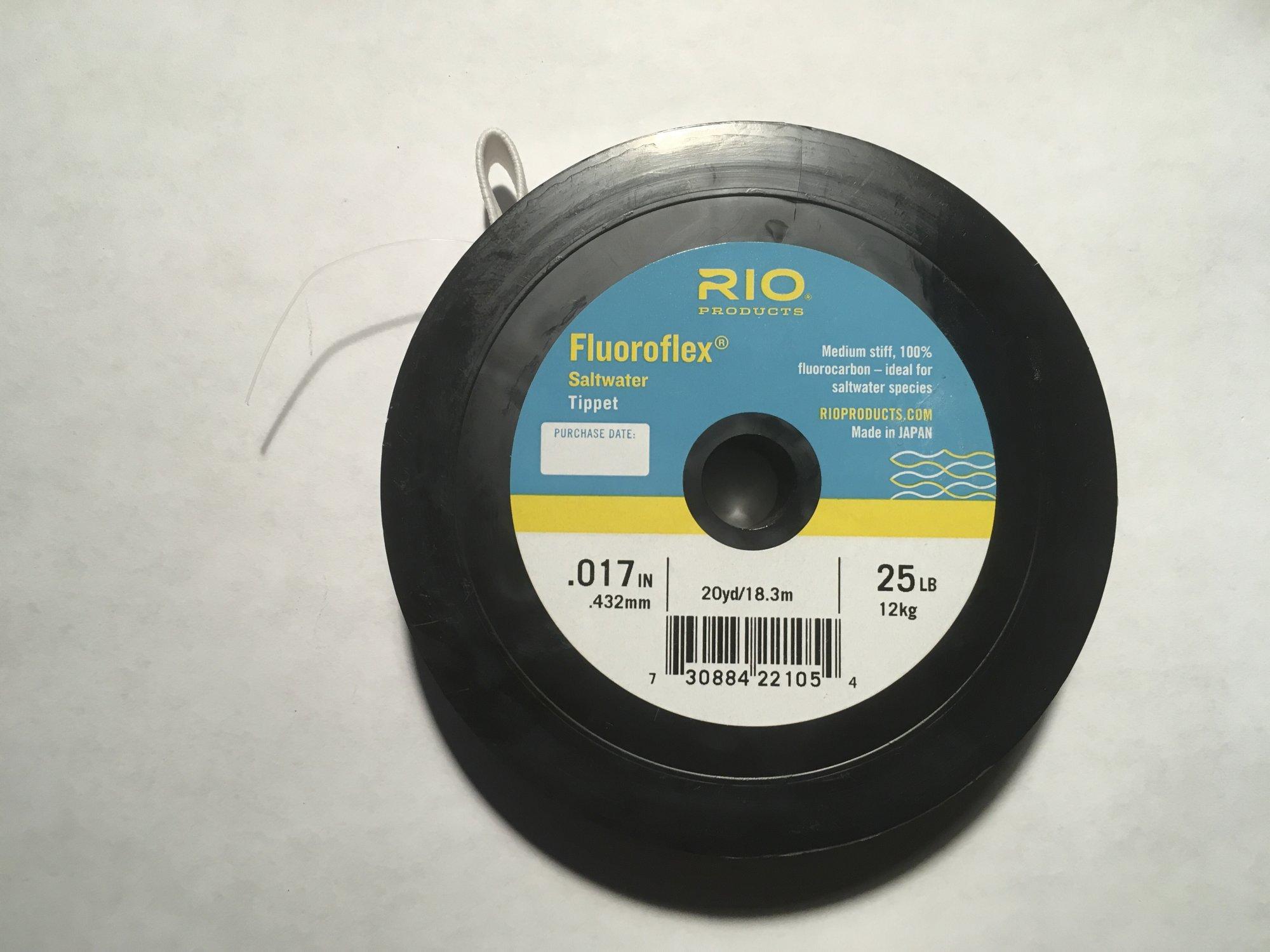 Flouroflex Saltwater Tippet   20 yds 25 lb