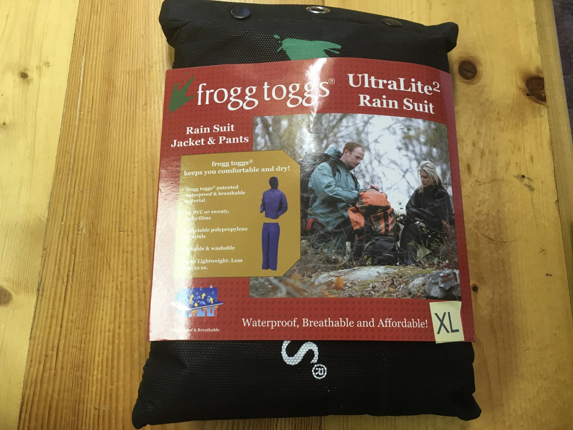 Frogg Toggs | XL Rain Suit Khaki