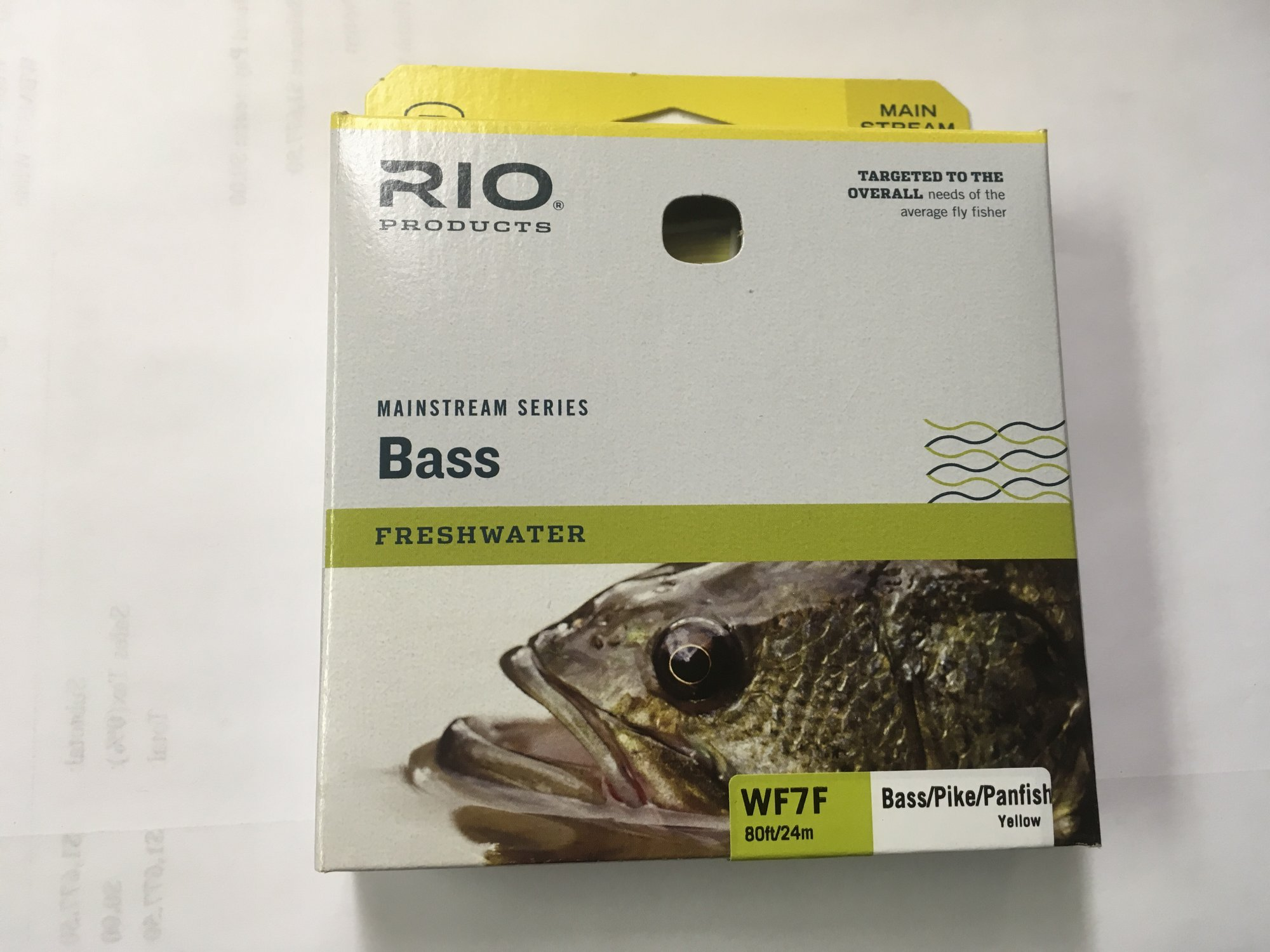 7 wt Bass/Pike Mainstream