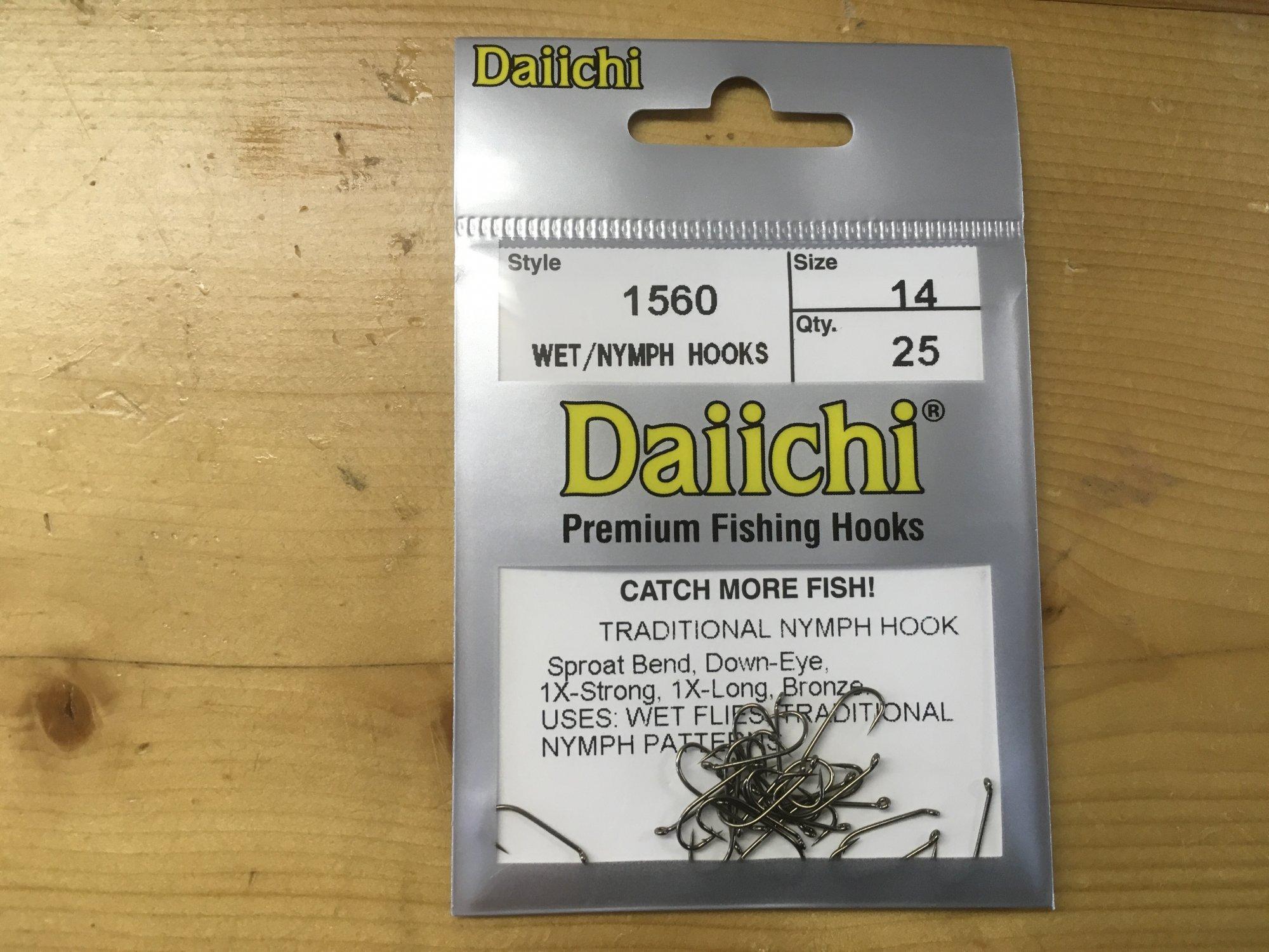 Daiichi Nymph Hook 1560